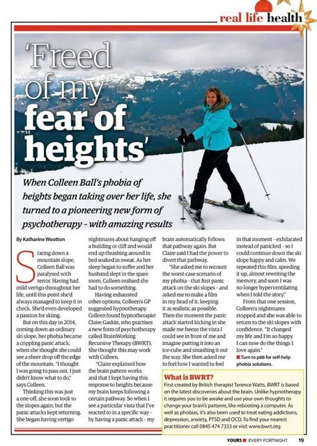 Therapy for Panic Attacks and Phobia of Heights